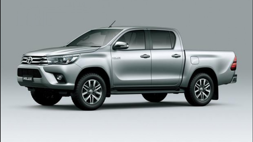 Toyota Hilux, il pick-up dei record si rinnova