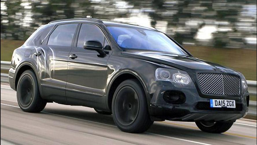 Bentley Bentayga, il SUV da 301 km/h