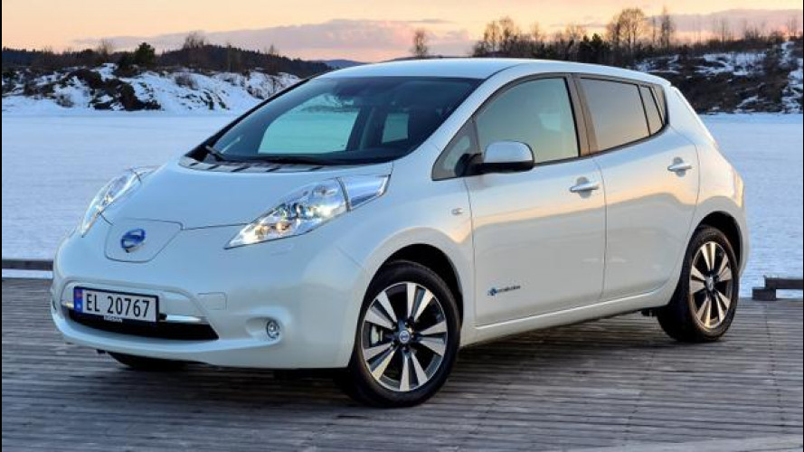 Nissan e AVIS raddoppiano l'offerta di leasing elettrico