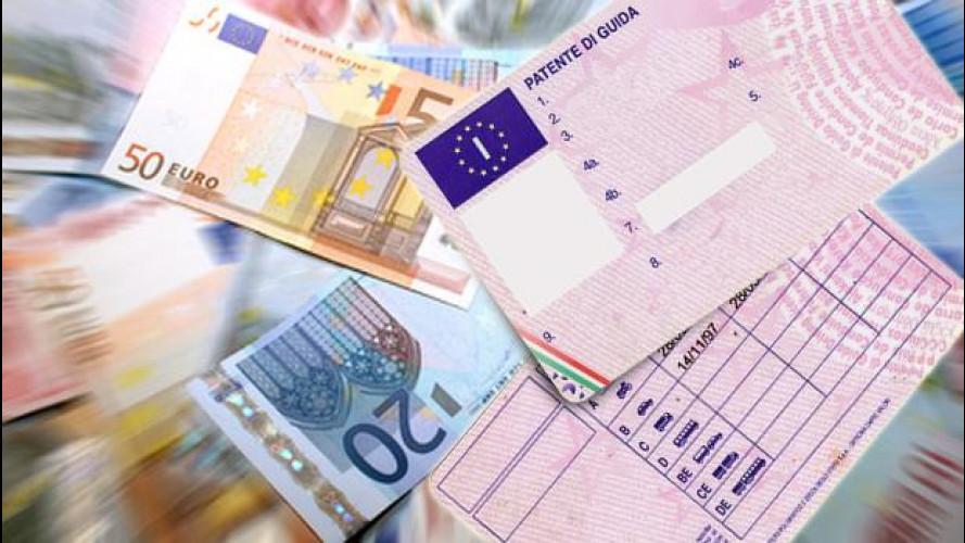 Guida senza patente, presto sanzioni fino a 30.000 euro