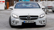 Mercedes-Benz S-Class Coupe Refresh Spy Photos
