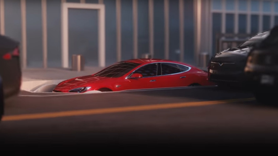 Watch Teslas Go Underground In Musk's 'The Boring Company' Video