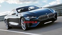 BMW 8 Series concept sızdırıldı