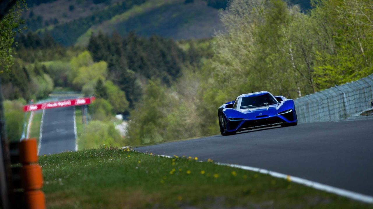 Nio EP9 récord Nürburgring