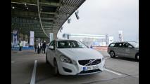 Volvo V60 Plug-in Hybrid, test a Berlino