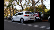 Volkswagen Golf Blue-e-motion: il test ad H2Roma 2011