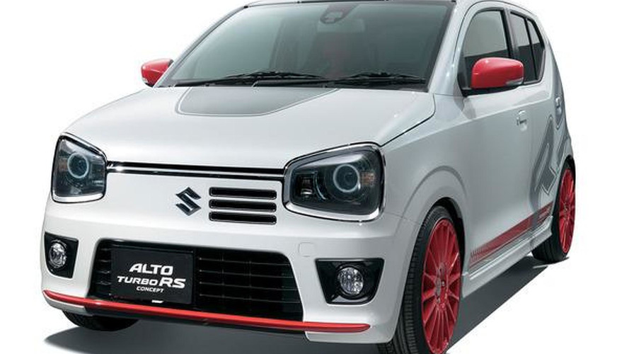Suzuki Alto RS Turbo previewed ahead of Tokyo Auto Salon debut