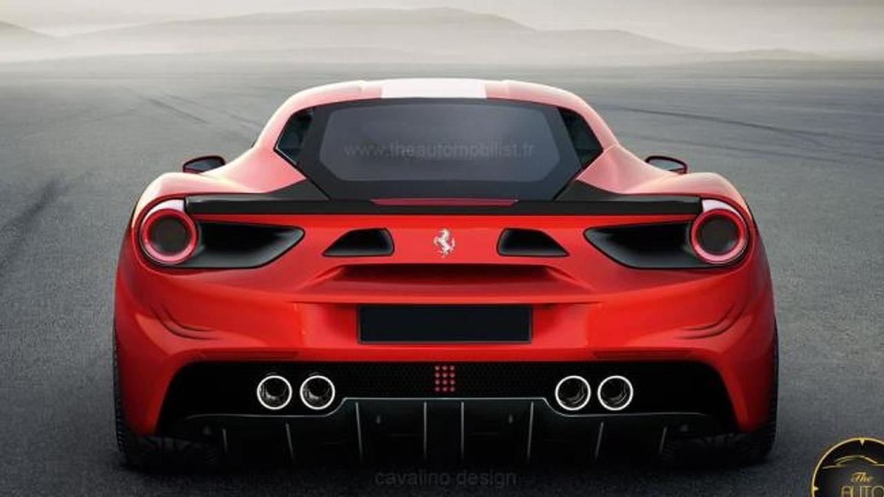 Ferrari 488 GTB Speciale render
