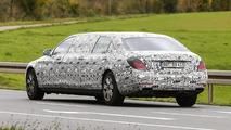 Mercedes S600 Pullmann spy photo