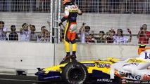 Nelson A. Piquet, Renault F1 Team, kazası