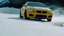 BMW M6 tears up frozen Calgary lake in Pennzoil spot