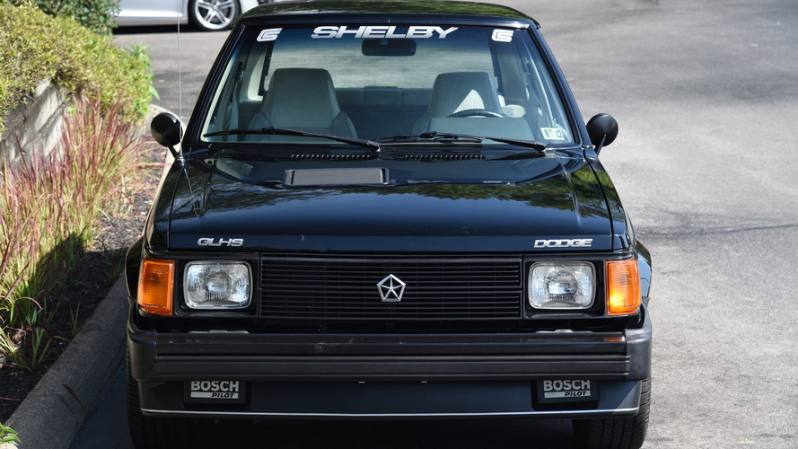 1986 Dodge Omni Shelby Glh S Ebay Find Still Looks Brand New