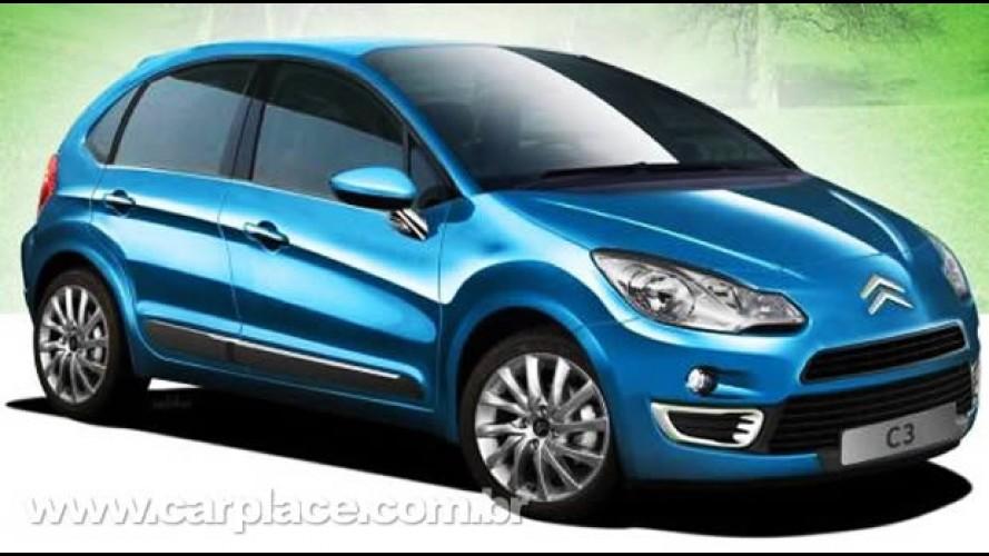 Novo Citroën C3 - Nova projeção mostra como pode ser a nova geração do compacto