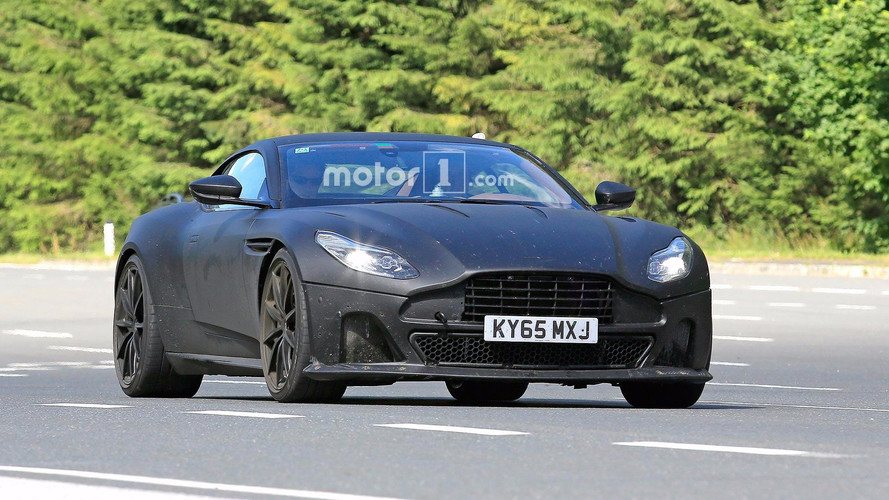 Aston Martin DB11S Spy Photos