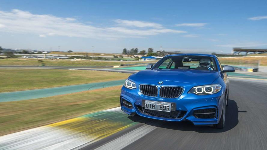 Aceleramos os novos BMW M140i, M240i, X5M e Mini JCW em Interlagos