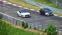 2018 Mercedes CLS screenshot from spy video