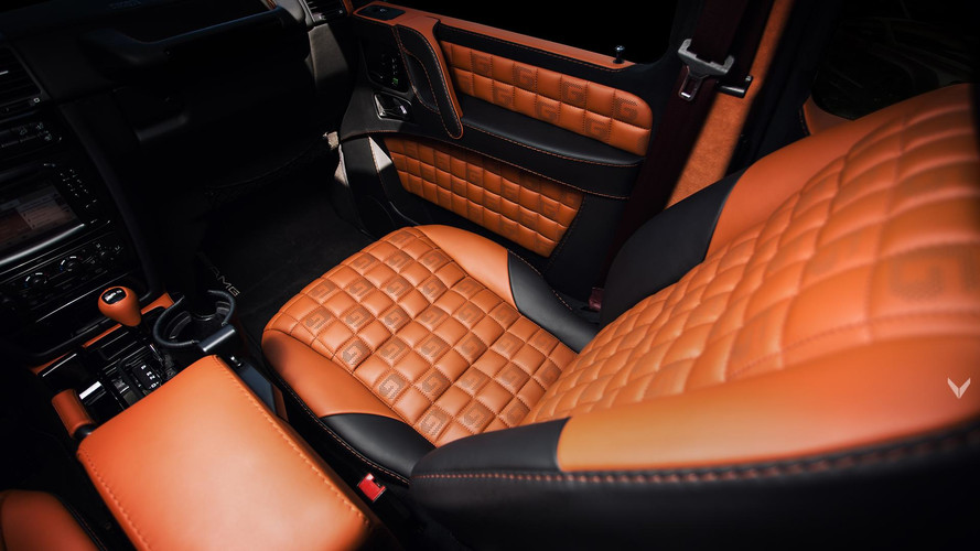 Mercedes G55 AMG Interior As Posh As A Maybach Thanks To Vilner
