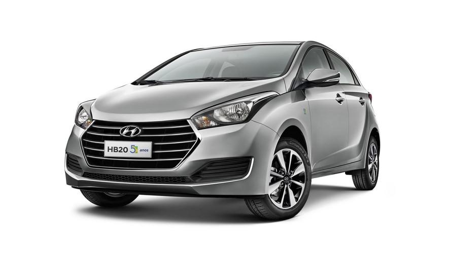 Hyundai HB20 completa cinco anos e ganha versão comemorativa