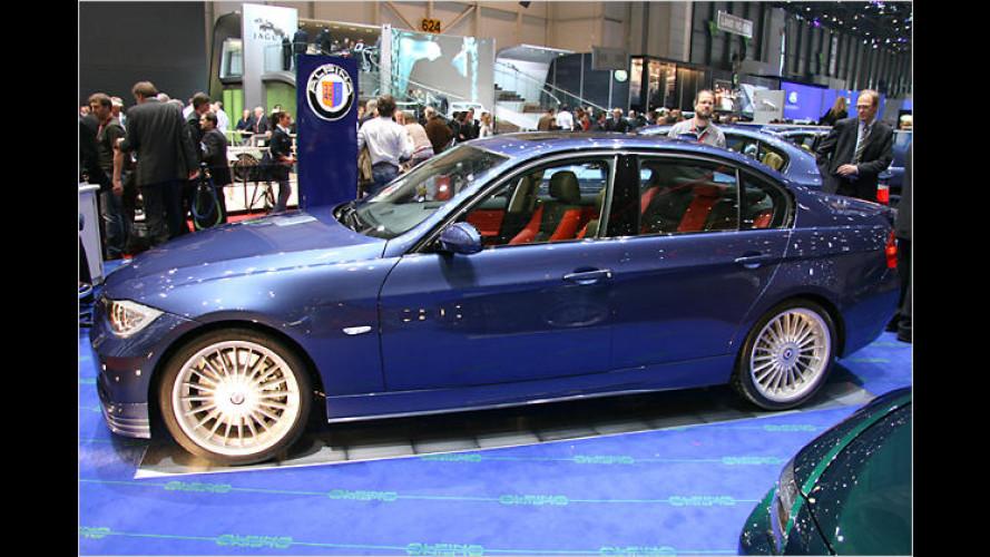 Alpina B3 Bi-Turbo in Genf: Viel Druck im blauen Boliden