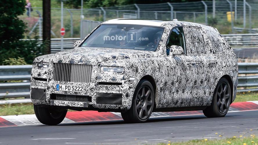 Rolls-Royce Cullinan Nurburgring Spy Shots
