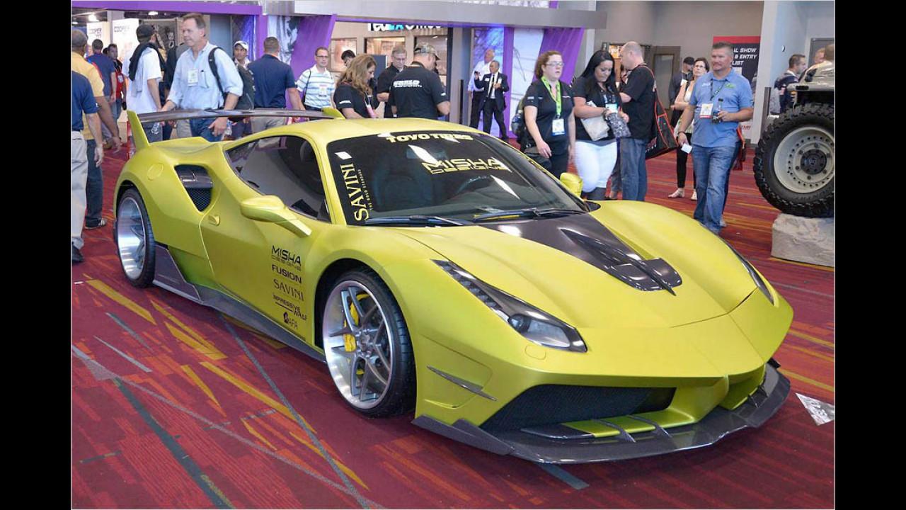 Getunter Ferrari 488