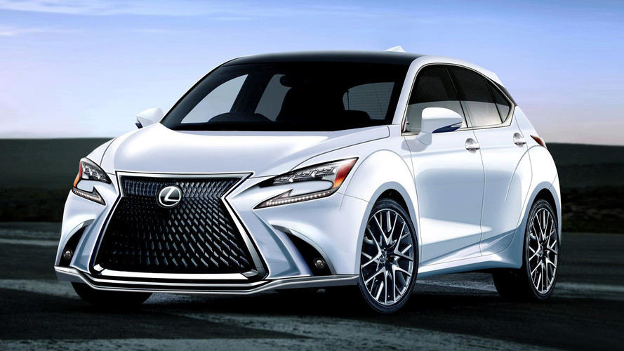 Lexus CT 200h Lives On As Little Crossover In New Rendering