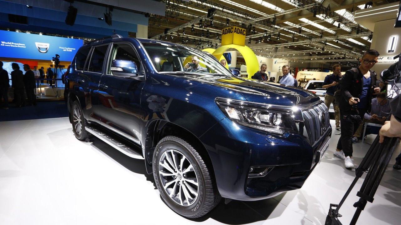 2018 Toyota Land Cruiser live in Frankfurt