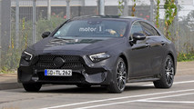 Mercedes CLS 2017 photos espion