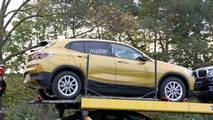 BMW X2 2018, fotos espía