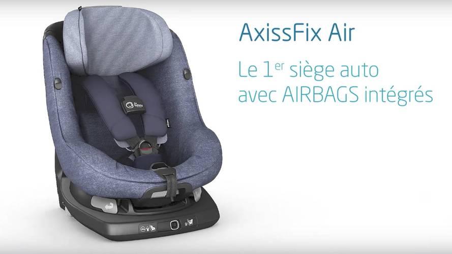 VIDÉO - Voici le première siège bébé avec airbags !