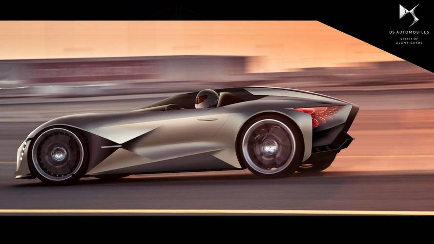 DS X E-Tense Is A Gorgeous 1,341-HP Performance EV From 2035