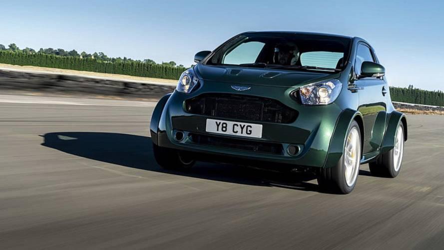Aston Martin, ufak Cygnet modeline bir V8 motor sığdırmış