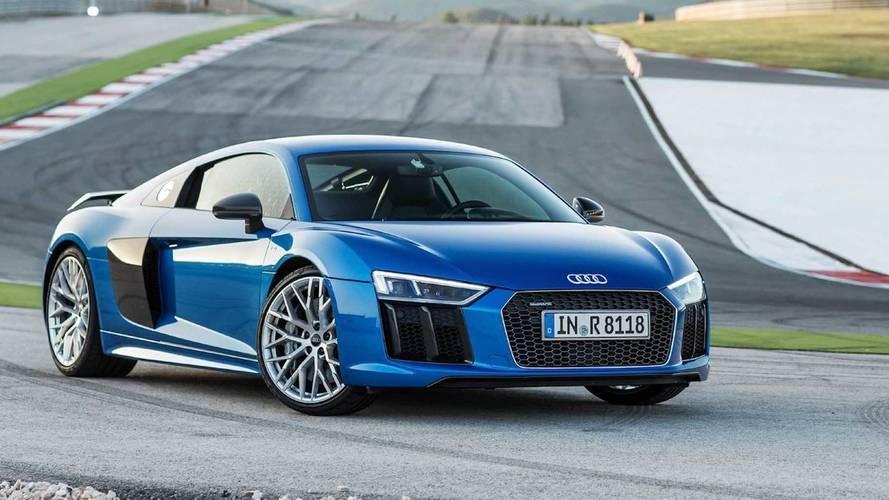 Audi R8 Coupé V10 plus: así acelera hasta 333 km/h