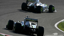 Jenson Button and Rubens Barrichello Brawn GP