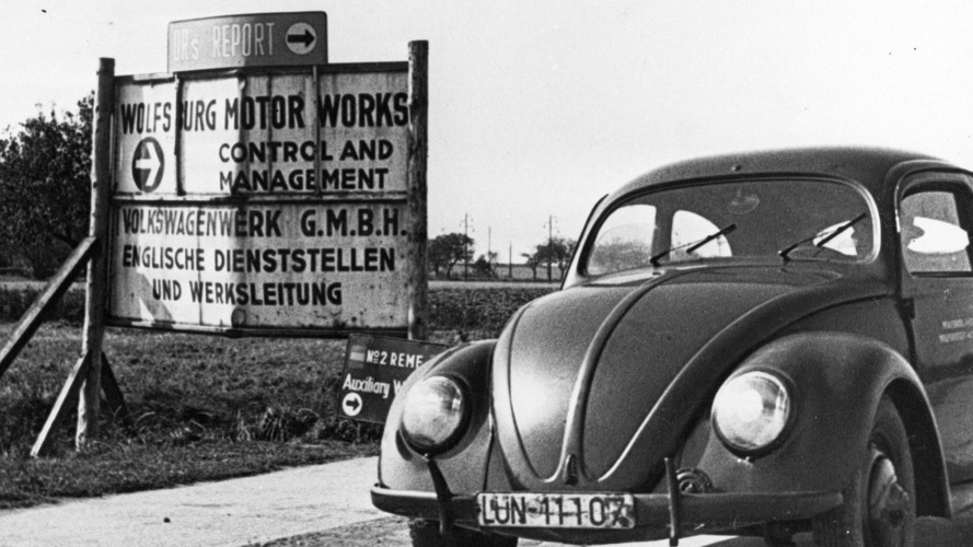 The first VW Beetle rolled off the assembly line 70 years ago this week