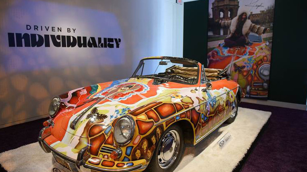 Janis Joplin 1964 Porsche 356 C 1600 SC Cabriolet