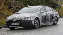 Sleeker 2017 Opel Insignia spied in the Alps testing alongside current model