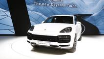 2018 Porsche Cayenne Turbo live in Frankfurt
