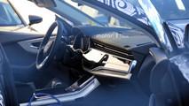 2019 Audi Q8 iç mekân casus fotoğrafları