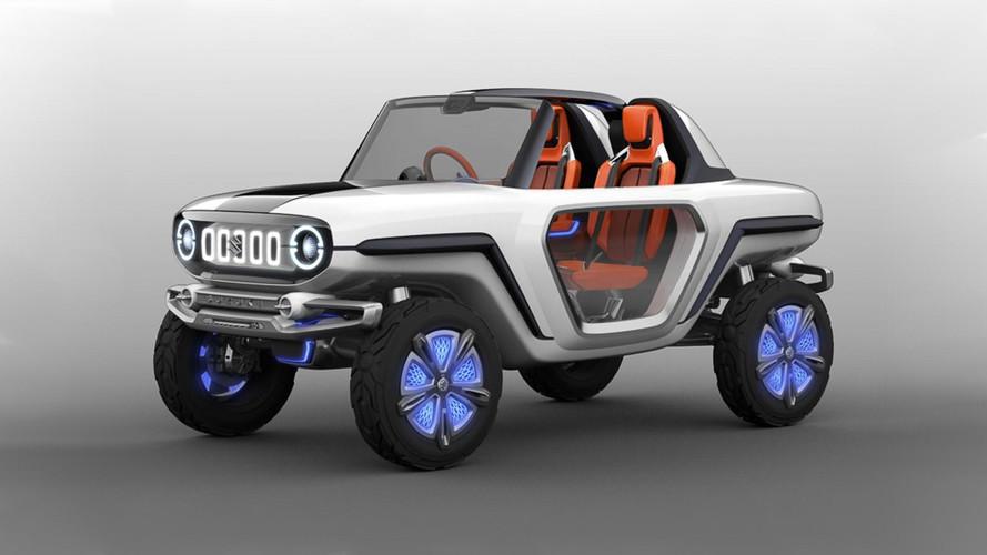 Suzuki e-Survivor concept, así será el futuro de los todocaminos