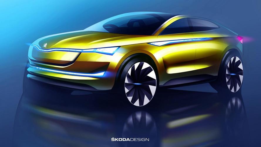 Škoda - Le concept Vision E mis à jour pour Francfort
