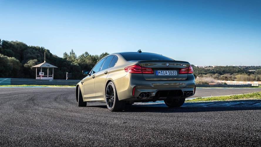 De nouvelles informations concernant la BMW M5 Pack Competition