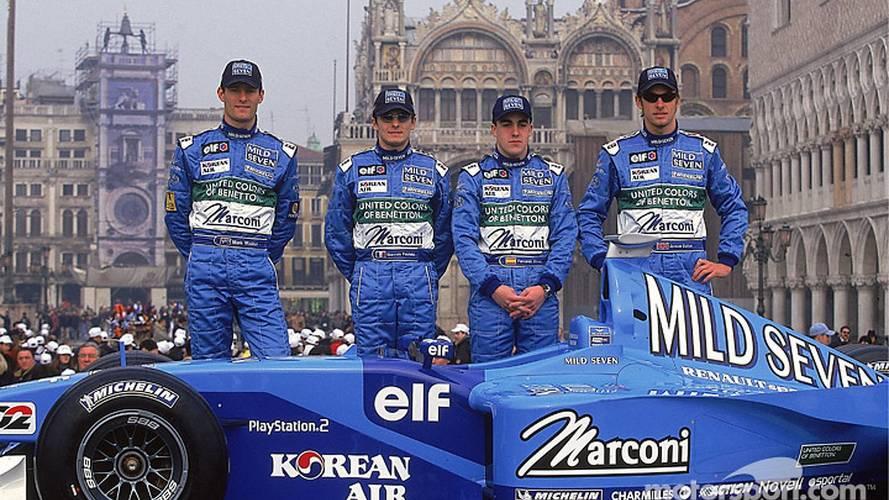 B201, el último Benetton de la historia de la F1