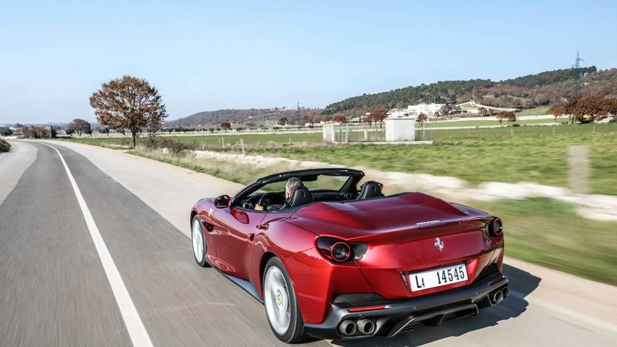 Ferrari Portofino ilk sürüş