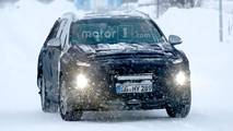 2018 Hyundai Santa Fe casus fotoğraflar