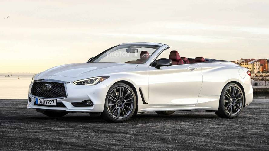 Handsome Infiniti Q60 Convertible Takes Off Its Top For Rendering