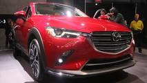 2019 Mazda CX-3 at the 2018 New York Auto Show