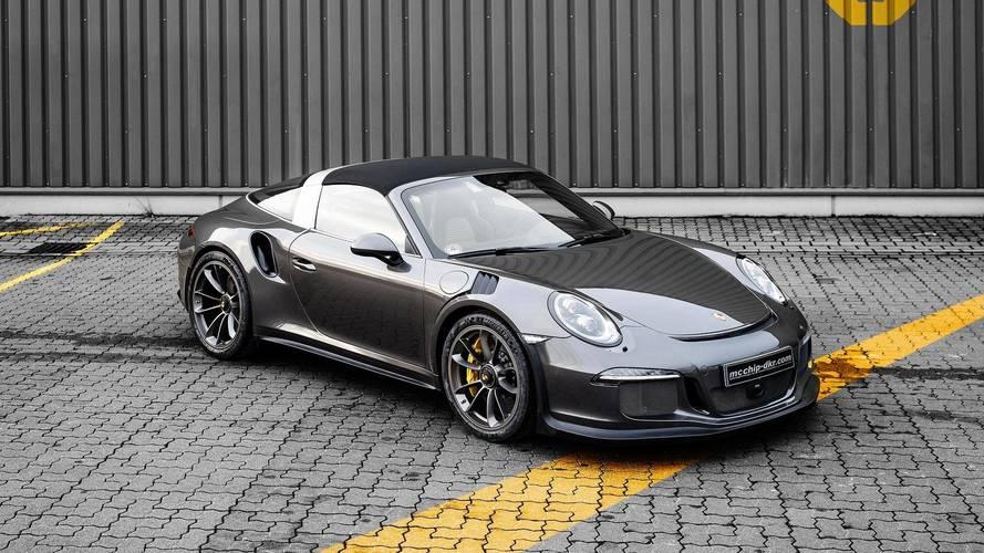 Porsche 911 GT3 RS Targa Doesn't Exist, But Tuner Comes Close