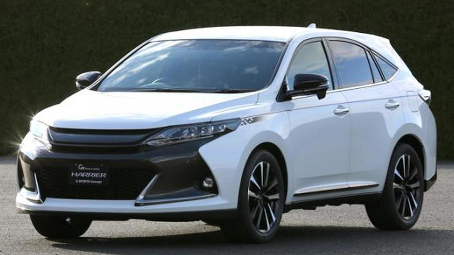 Toyota Harrier G Sports concept bows in Tokyo