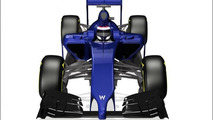 Williams FW36 2014 race car first images